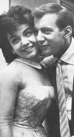 Bobby Darin and Annette Funicello