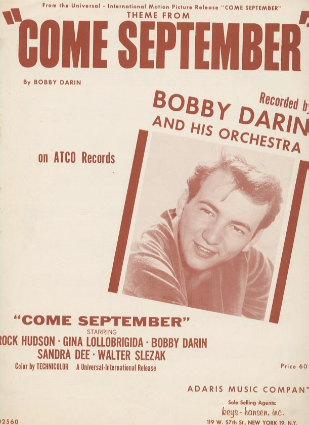 Bobby Darin and His Orchestra Walk Bach To Me